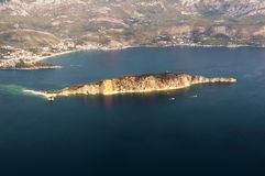 Island Of St. Nicholas. Budva  2 Royalty Free Stock Photography