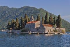 Island Of Sveti Djordje Royalty Free Stock Image