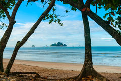 Island off Ao Nang beach Krabi, Thailand Royalty Free Stock Image