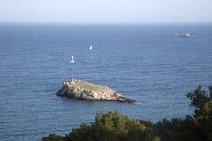Island off Ibiza Royalty Free Stock Photos