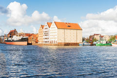 Island Olowianka, Gdansk Royalty Free Stock Photos