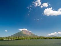 Island Ometepe in Nicaragua Royalty Free Stock Photo