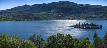 Island of Orta San Giulio, Piedmont Royalty Free Stock Photography