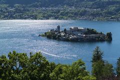 Island of Orta San Giulio, Piedmont Stock Photos