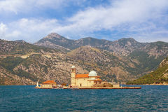Island of Our Lady of The Rocks . Montenegro Royalty Free Stock Image