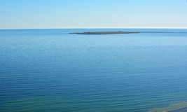 Island oustide eastern part of Gotland in Sweden Stock Photos
