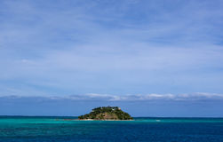 Island in the Pacific Ocean Stock Photography