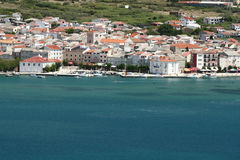 Island Pag. This photo introduces island Pag (croatia Royalty Free Stock Photography