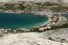 Island Pag-Croatia Stock Photos