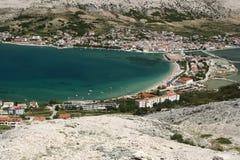 Island Pag-Croatia. This photo introduces island Pag ,mountains, stones,and mediterranean sea.(Croatia Europa Stock Photos