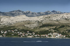 Island Pag-Croatia Royalty Free Stock Photo