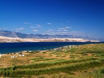 Island Pag, Croatia Royalty Free Stock Photo