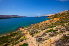 Island of Pag in Croatia Stock Photos