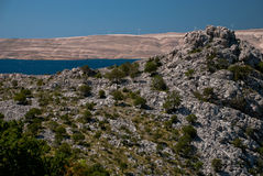Island of Pag Stock Photography