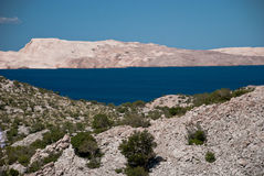 Island of Pag Royalty Free Stock Photos