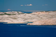 Island of Pag Stock Images