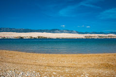 Island of Pag Royalty Free Stock Photo