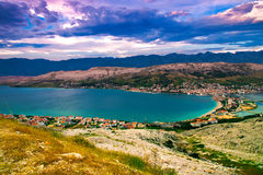 Island of Pag royalty free stock photography