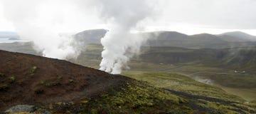Island-Panorama lizenzfreie stockfotografie