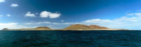 Island panorama Stock Image