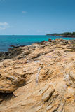 Island paradise. Rocks, sea and sky are beautiful in Thailand Royalty Free Stock Photography