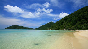 Island paradise at Surin national park Royalty Free Stock Photo