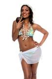 Island Party Girl stock photo
