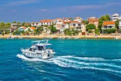 Island of Pasman coas yachting Stock Photos