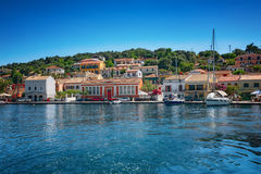 The island of Paxos, Greece. Ð•arly summer on the island of Paxos, Ionian Sea, Greece royalty free stock photography