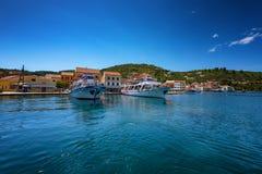 The island of Paxos, Greece. Ð•arly summer on the island of Paxos, Ionian Sea, Greece royalty free stock photos