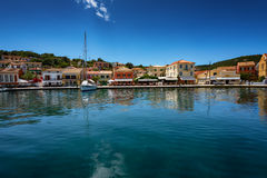 The island of Paxos, Greece. Ð•arly summer on the island of Paxos, Ionian Sea, Greece royalty free stock images