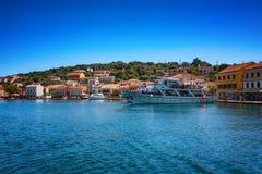 The island of Paxos, Greece. Ð•arly summer on the island of Paxos, Ionian Sea, Greece stock photo
