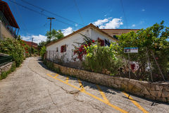The island of Paxos, Greece Royalty Free Stock Photos