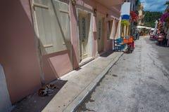 The island of Paxos, Greece Stock Photo