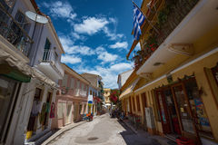 The island of Paxos, Greece Royalty Free Stock Photo
