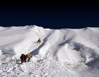 Island Peak Ridge - Nepal Stock Images