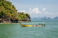 Island in Phang Nga Bay, Thailand Royalty Free Stock Image
