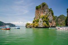Island in Phang Nga Bay, Thailand Stock Photography
