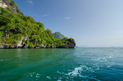 Island of Phang Nga National Park in Thailand Stock Photo