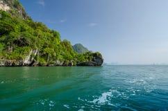 Island of Phang Nga National Park in Thailand. Idyllic island of Phang Nga National Park in Thailand Stock Photo