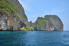 Island of Phang Nga National Park in Thailand. Idyllic island of Phang Nga National Park in Thailand Royalty Free Stock Image