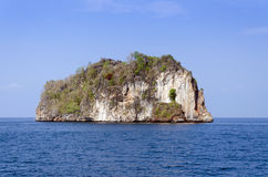 Island of Phang Nga National Park in Thailand. Idyllic island of Phang Nga National Park in Thailand Royalty Free Stock Photography