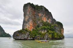 Island Phang Nga, Thailand Stock Images