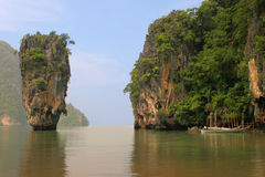 Island, Phang Nga, Thailand royalty free stock photo