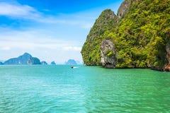 Island Phang Nga, Thailand Royalty Free Stock Photo