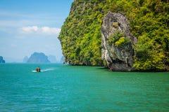 Island Phang Nga, Thailand Royalty Free Stock Photos