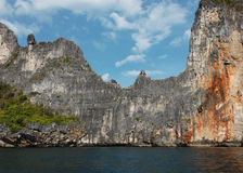 The island of phi phi leh Krabi Stock Photography