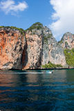 Island of Phi Phi Leh in Thailand Royalty Free Stock Photography