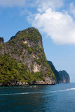 Island of Phi Phi Leh in Thailand Stock Photos
