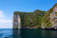 Island of Phi Phi Leh in Thailand Royalty Free Stock Image